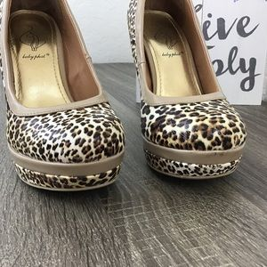 Baby Phat Shoes - Baby Phat | Chance Leopard Platform Pumps Size 7